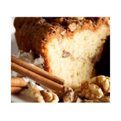 Cinnamon Walnut Coffee Cake Slice