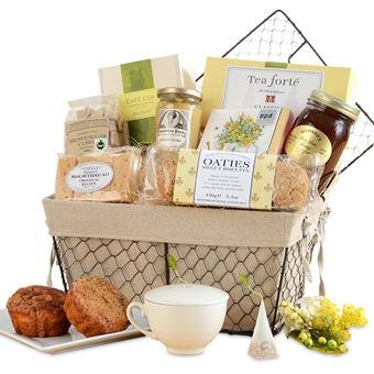 The Art of Tea Basket
