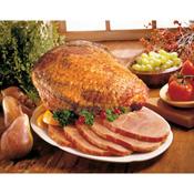 Arkansas Hickory Smoked Ham, Half Bone-In