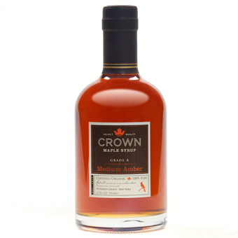 Crown Maple Organic Grade A Medium Amber Syrup