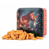 Aged Cheddar Cheese Straws Holiday Gift Tin