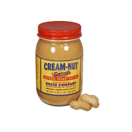 Cream-Nut All Natural Peanut Butter