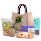 Sweet & Salty Snacks Gift Tote