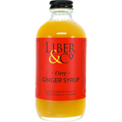 Fiery Ginger Syrup