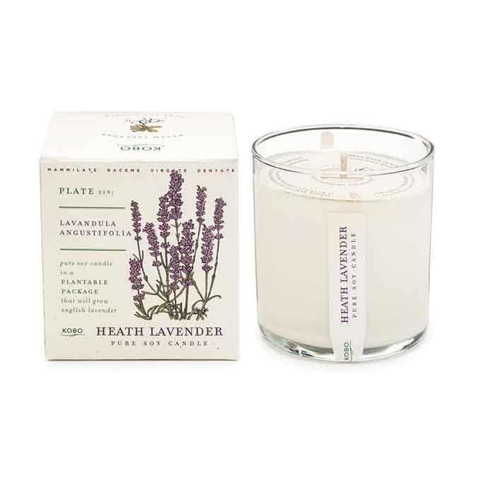 KOBO Heath Lavender Seed Candle