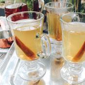 Lemon Ginger Hot Toddy Prepared