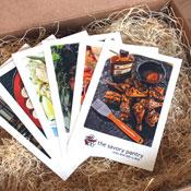 Bourbon Gift Recipe Cards