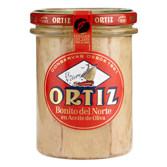 Ortiz Bonito del Norte (White Tuna in Olive Oil)