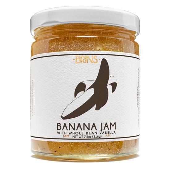 Banana Jam with Whole Bean Vanilla