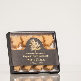 Organic Pure Vermont Maple Candy