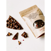 Saratoga Chocolate Company Raspberry Almond Bark
