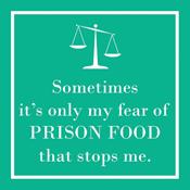 <i>Prison Food</i> Cocktail Napkin