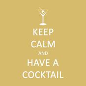 <i>Keep Calm</i> Cocktail Napkin
