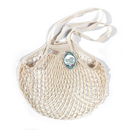 Filt Medium Cotton Net Shopper, White