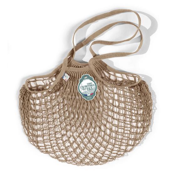 Filt Medium Cotton Net Shopper, Beige