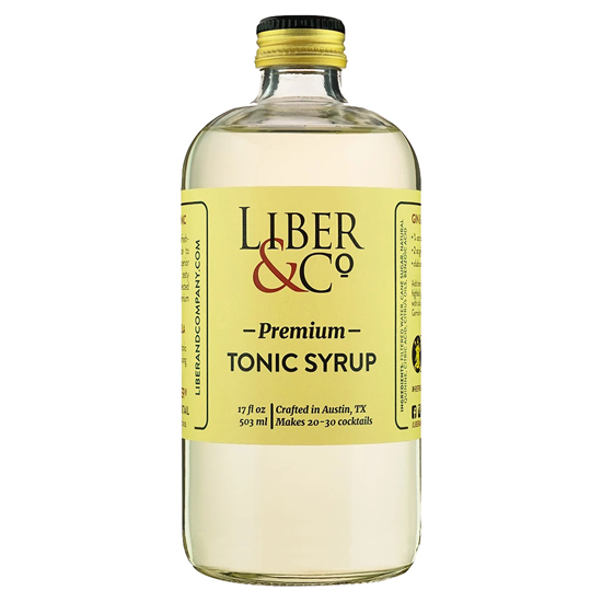 Premium Tonic Syrup