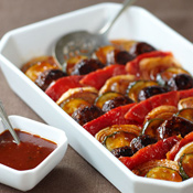 Maple Chipotle Grilled Vegetables