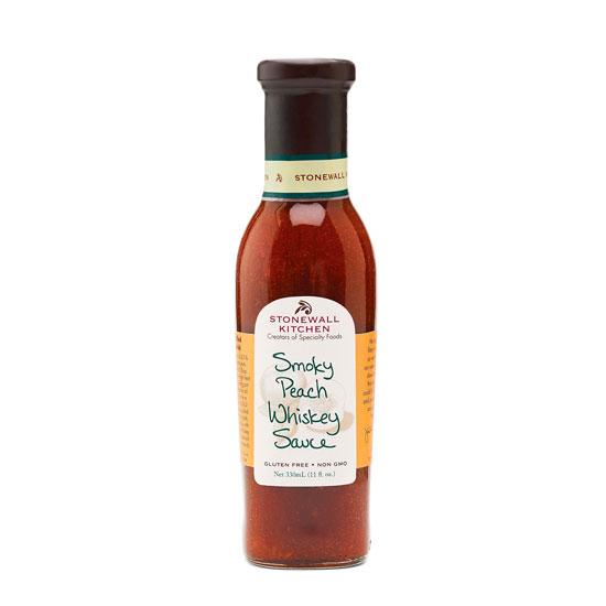 Smoky Peach Whiskey Sauce