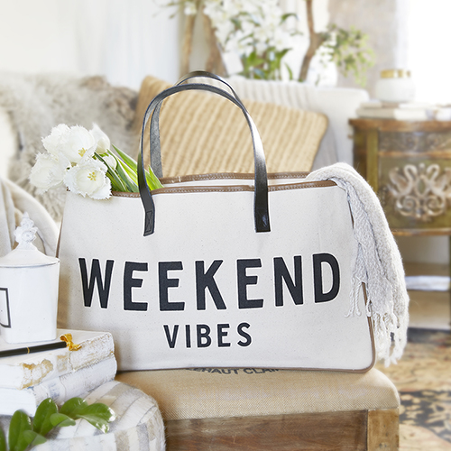Weekend Vibes - Canvas Tote