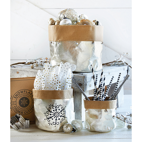 Champagne Washable Paper Holders