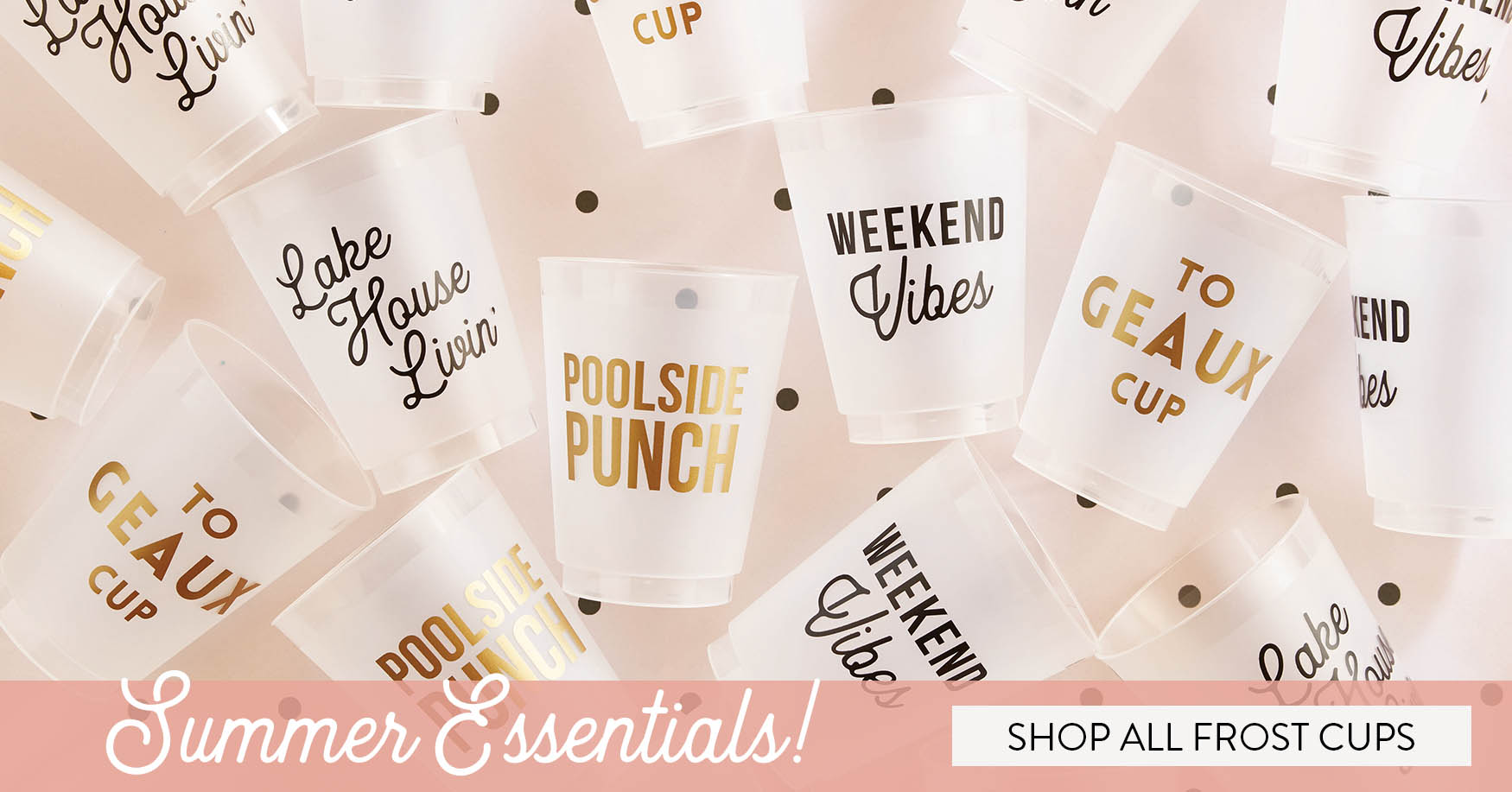 Summer Essentials - Shop all frost cups!