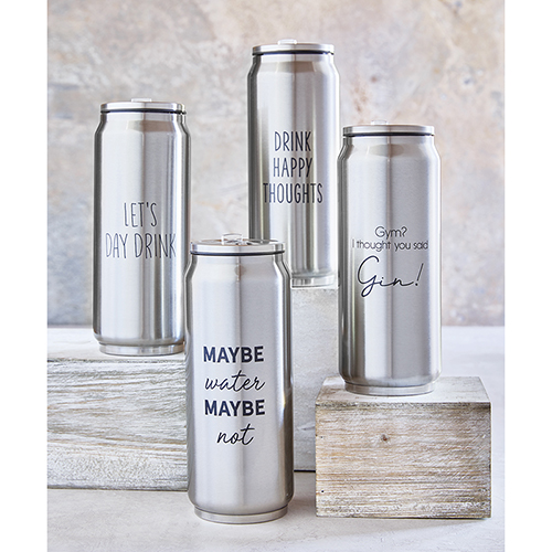 SIPS Stainless Steel Cans