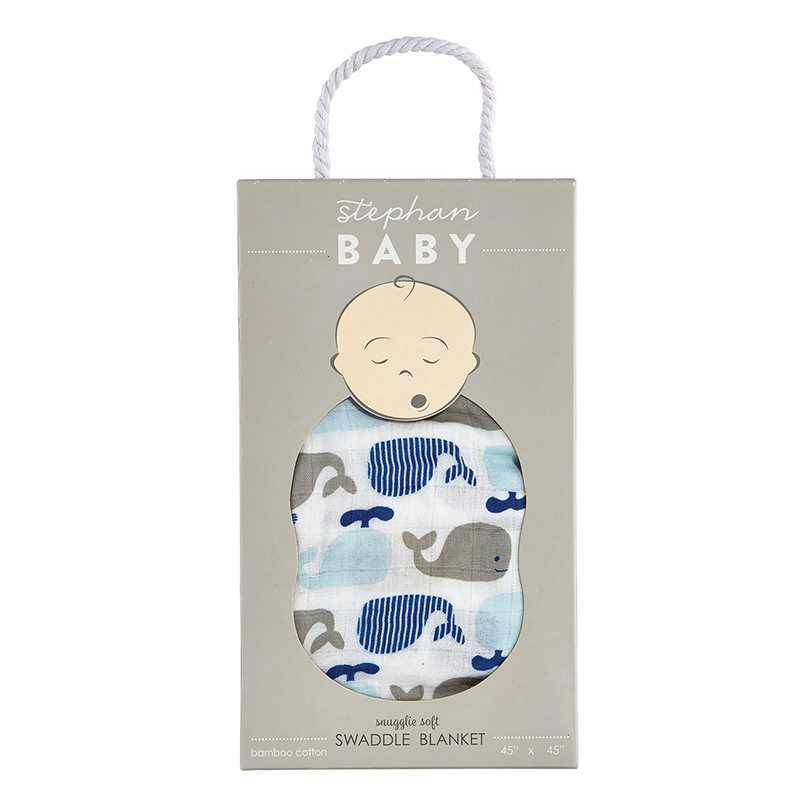 Swaddle Blanket - Whale