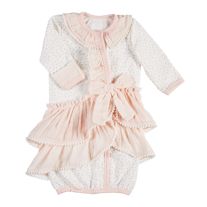 Gown - Mini Pom, 0-3 months