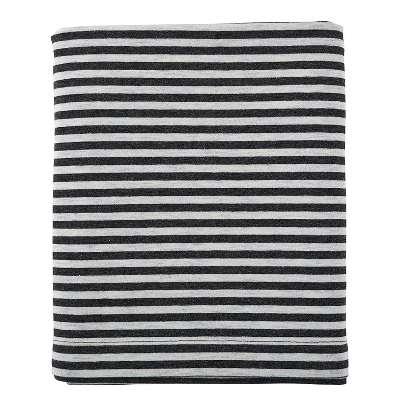 Nursing Scarf - Grey Stripe