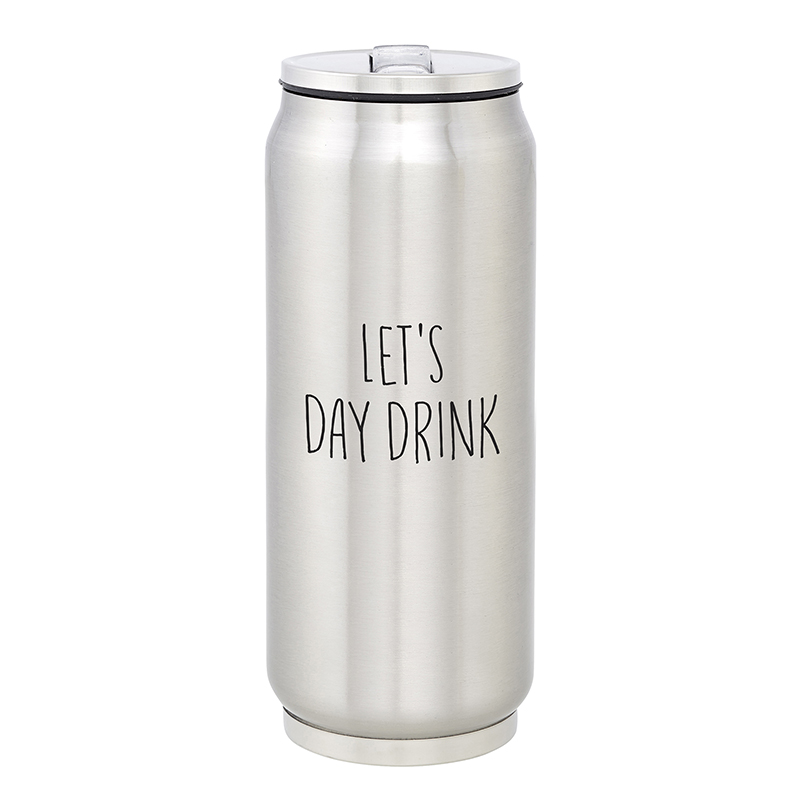 Large Stainless Steel Can - Day Drink
