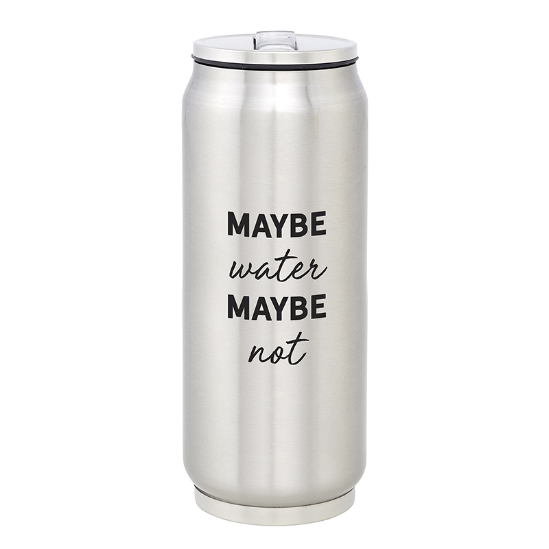 Stainless Steel  Can - Maybe Water