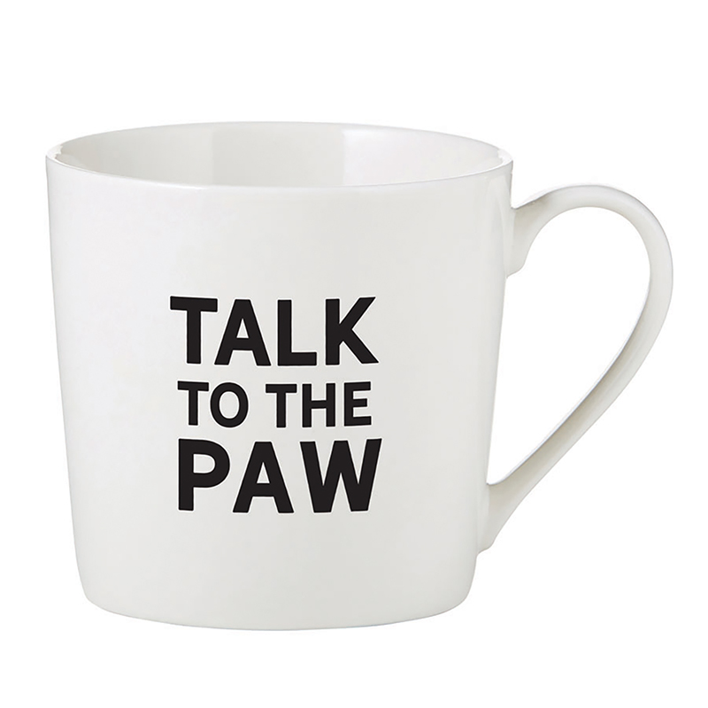 Café Mug - Talk to the Paw