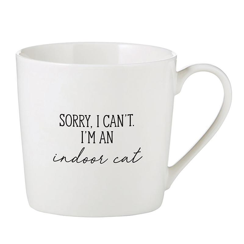 Café Mug - Indoor Cat