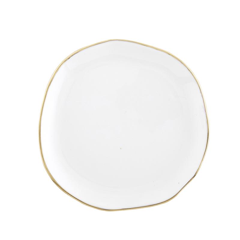 Ceramic Tray - Small - White