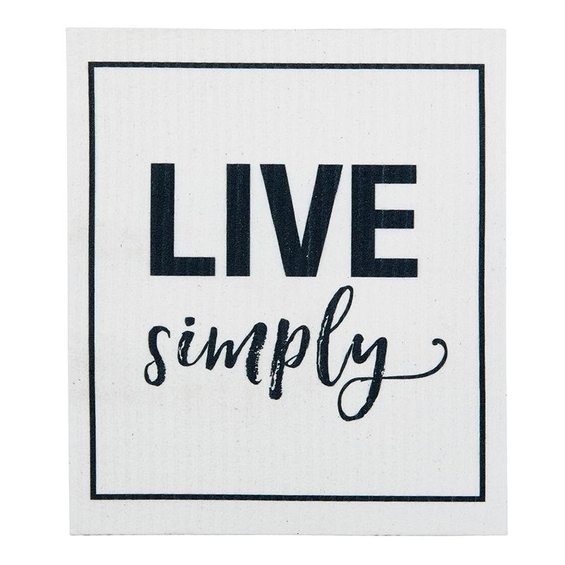 Organic Dishcloth - Live Simply