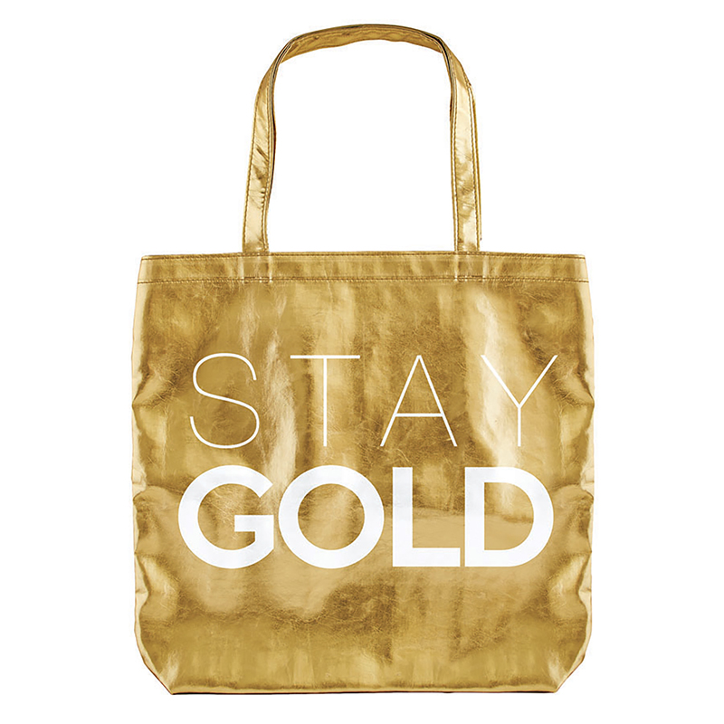 Gold Tote - Stay Gold