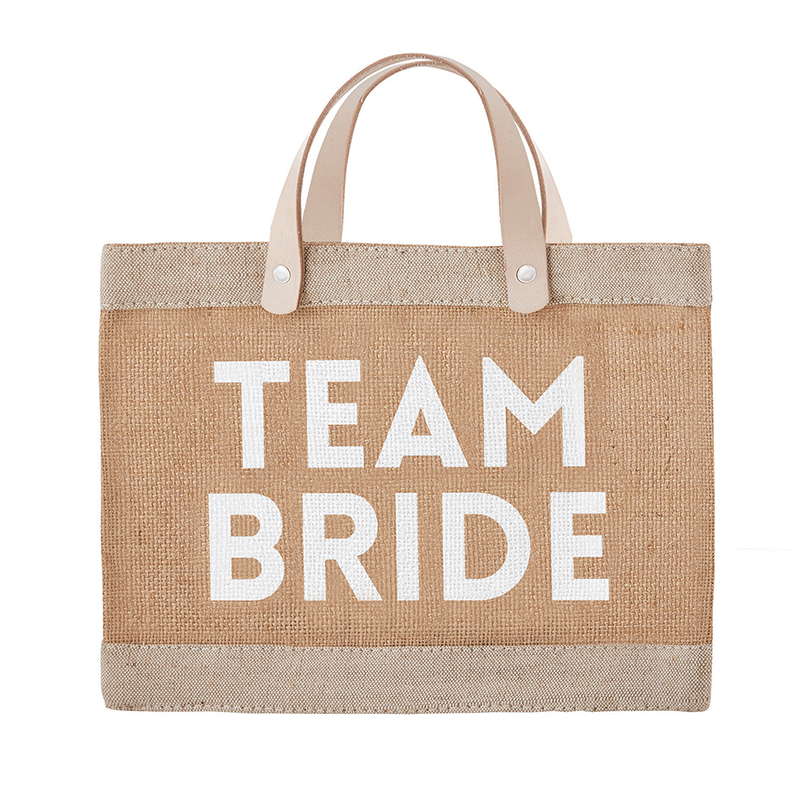 Farmer's Market Mini Tote - Team Bride