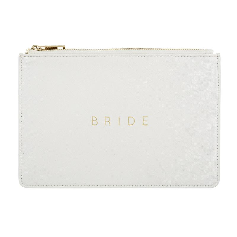 Fashion Pouch - Bride - Pearl White