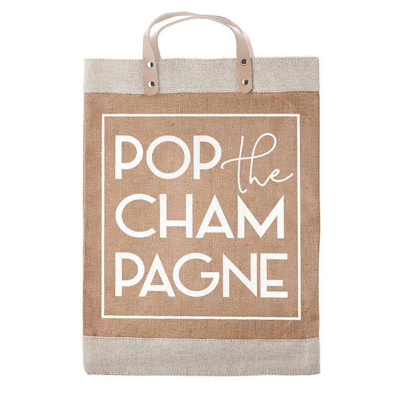 Farmer's Market Tote - Pop the Champagne