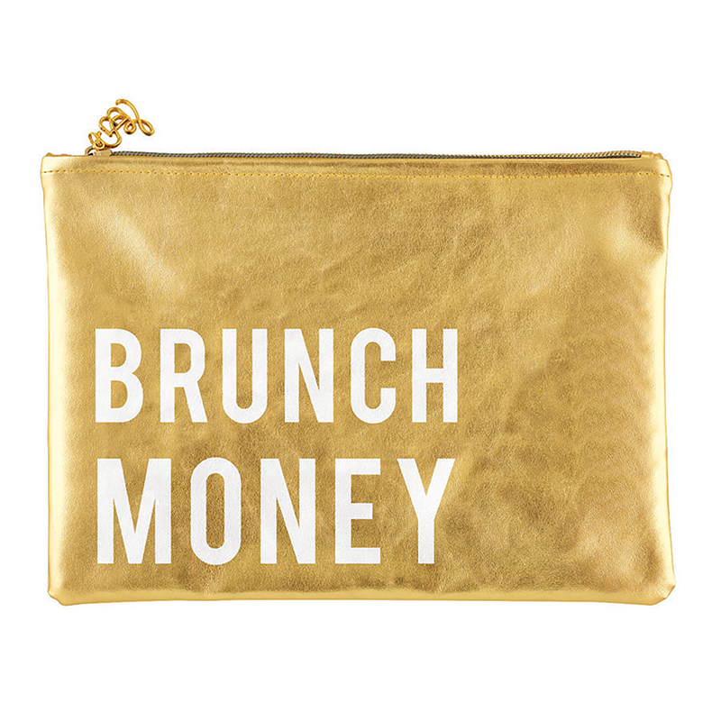 Gold Pouch - Brunch Money