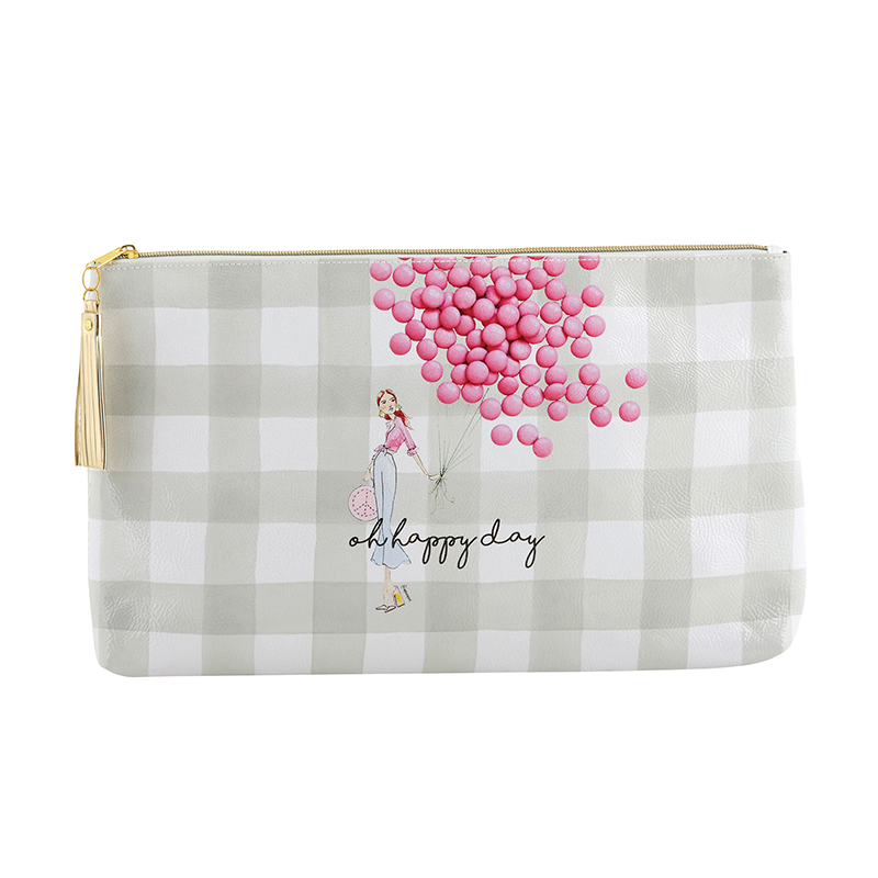 Oil Cloth Bag - Large - Happy Day