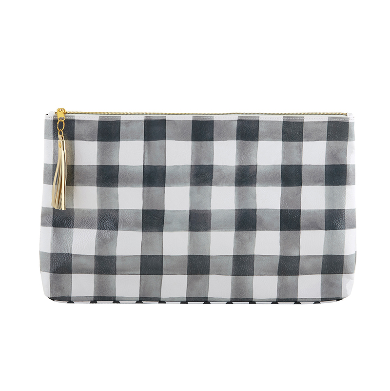 Oil Cloth Bag - Large - Buffalo Check