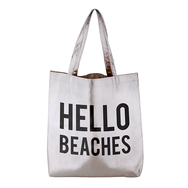Platinum Tote - Hello Beaches