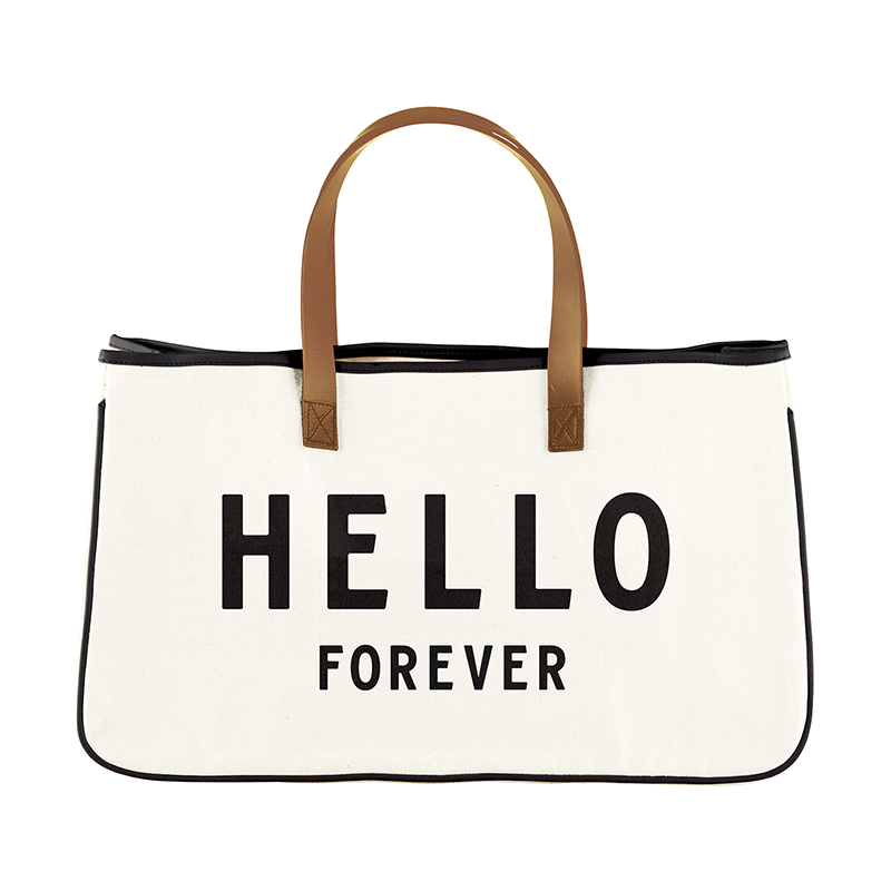 Canvas Tote - Hello Forever