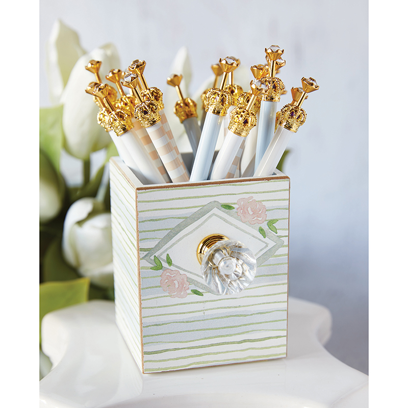 Rhinestone Pens Filled Display - Something Blue