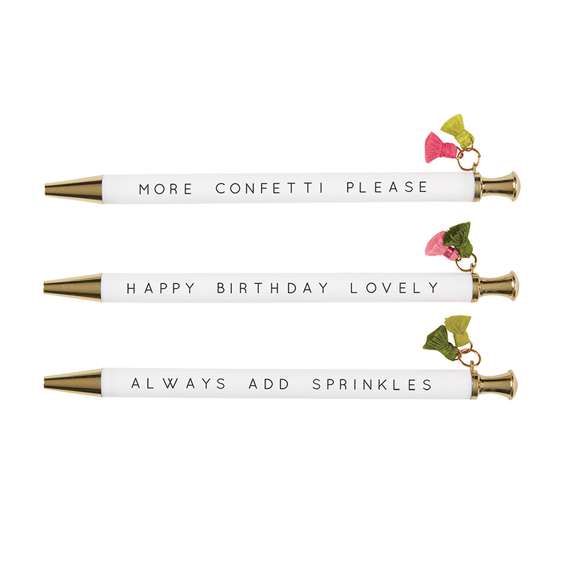 Tassel Pen - Lovely Birthday