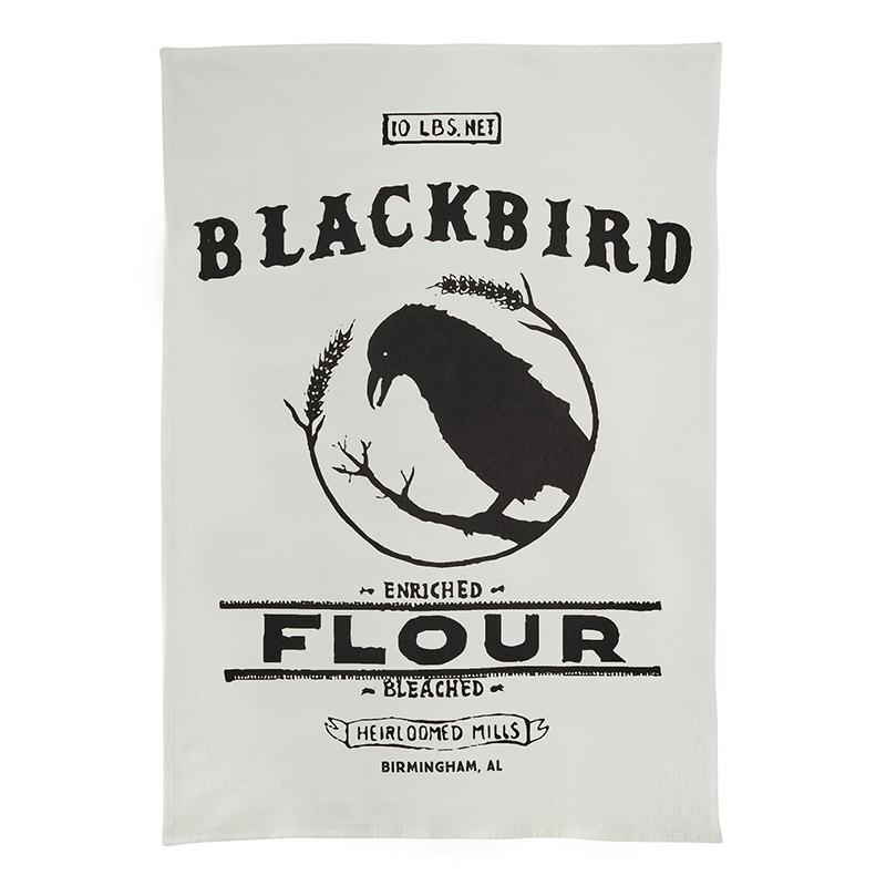 Heriloomed - Tea Towel - Blackbird