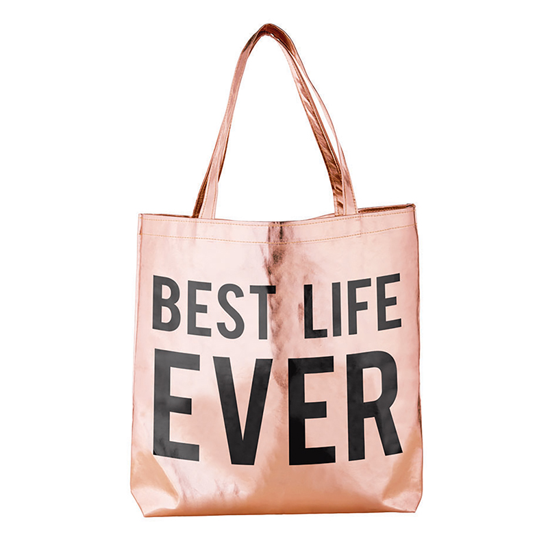 Rose Gold Tote - Best Life Ever