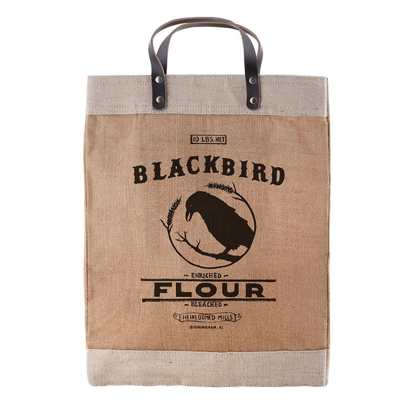 Heirloomed - Farmer's Market Tote - Blackbird