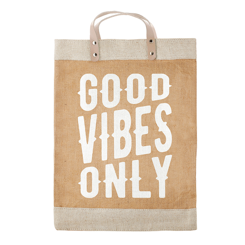 Farmer's Market Tote - Good Vibes